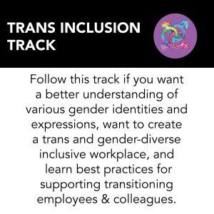 Trans inclusion track